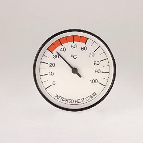 Unbekannt Infraworld Thermometer für Infrarotkabinen 100 mm Infrarotzubehör W4402