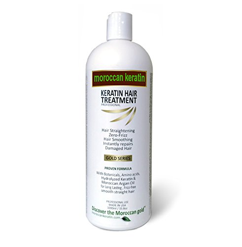 Moroccan Keratin With Argan Oil for Brazilian Keratin Hair Treatment Proven Formula (1000ml)