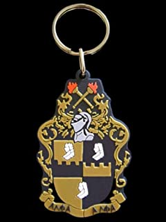 Alpha Phi Alpha (ΑΦΑ) PVC Keychain