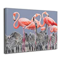 Skydoor J パネル ポスターフレーム 自然フラミンゴ インテリア アートフレーム 額 モダン 壁掛けポスタ アート 壁アート 壁掛け絵画 装飾画 かべ飾り 30×20