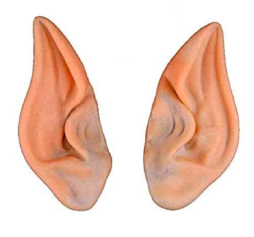 Inception Pro Infinite Par de orejas de punta  Elfo  Gnomo  Hada  Troll  Orco  Silicona  Carnaval  Halloween  Disfraz  Vestido  Idea de regalo original