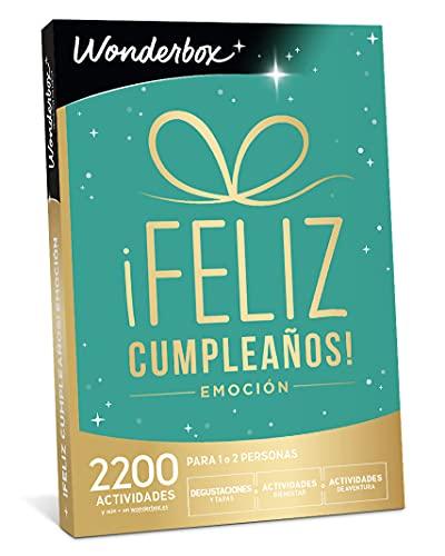 WONDERBOX - Caja regalo - ¡Feliz cumpleaños! emoción