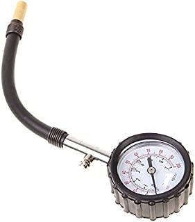 Shark High-Precision Tire Gauge/Tire Pressure Table for Motorcycle, Sportbike, ATV - Model SHK6231