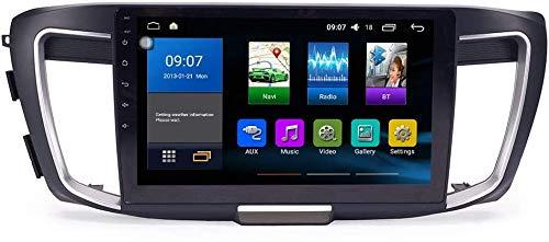 Adecuado para 14-17 Honda Accord 9th Generation, Android 10 Radio automático GPS Navigation Host IPS 2.5D Pantalla táctil Control de teléfono móvil SWC WiFi Multimedia Player