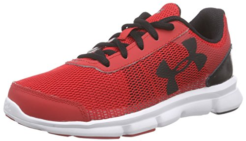 Under Armour Under Armour UA BPS Speed Swift, Jungen Laufschuhe, Rot RED/WHT/BLK 600, 33 EU