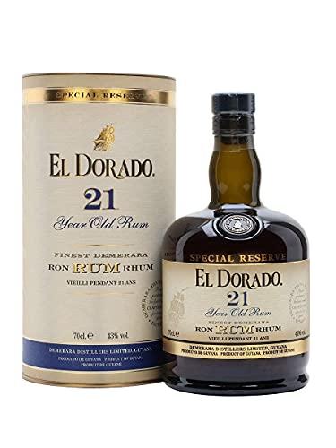 El Dorado El Dorado 21 Years Old Finest Demerara Rum Special Reserve 43% Vol. 0,7L In Giftbox - 700 ml