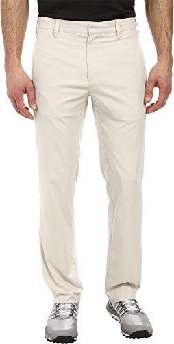 adidas Golf Men's Puremotion Stretch 3 Stripes Pant, Ecru, 34 x 32