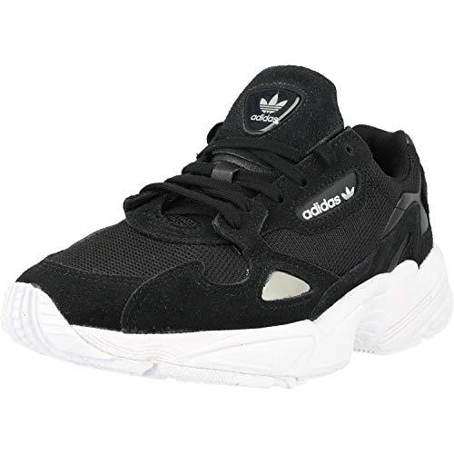 adidas Falcon W, Sneaker Donna, Multicolore (Black Cblack/Cblack/Ftwwht), 38 EU