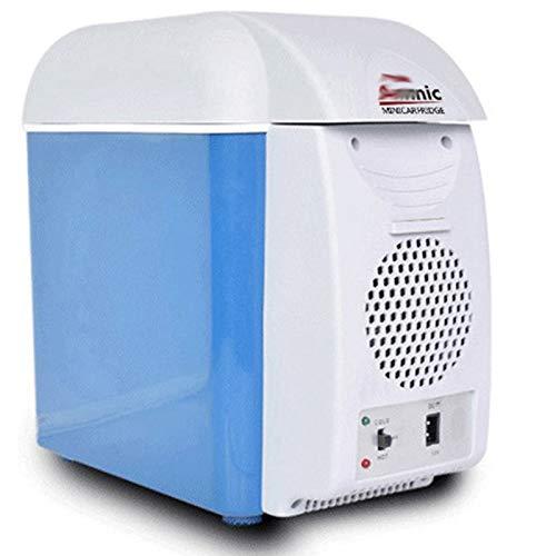 YICHEN Mini refrigerador Refrigerador eléctrico portátil Mini refrigerador más frío y más cálido para Camping, Viajes, Camión, Coche, Barco, RV