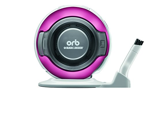 Buy BLACK DECKER orb [fit in the spaces about 1 CD] rechargeable handy cleaner pearl magenta ORB48PM