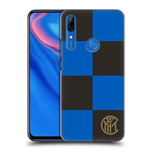 Head Case Designs Ufficiale Inter Milan Scacchi Grafici Cover Dura per Parte Posteriore Compatibile con Huawei P Smart Z / Y9 Prime
