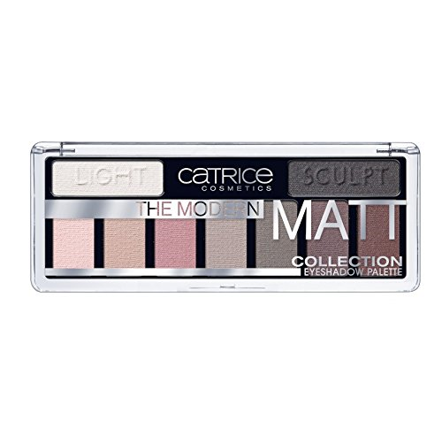 Catrice The Modern Matt Collection Paleta de Sombras de Ojos, Multi 010 21 g