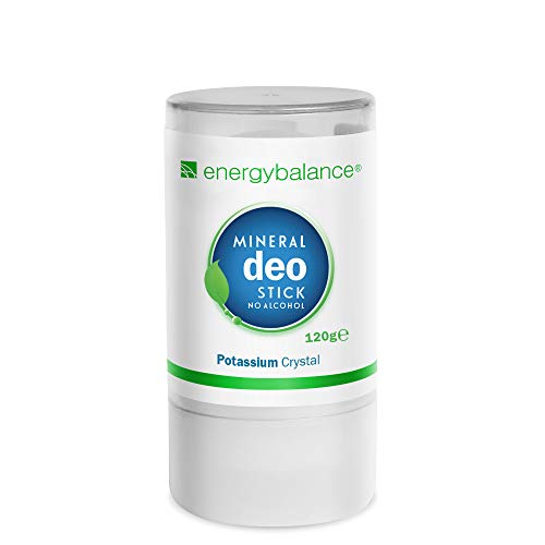 EnergyBalance Deo Kristall Stick - Damen, Herren - ohne Aluminiumchloride, Duftneutral, keine Tierversuche - Qualität aus der Schweiz - 120 g
