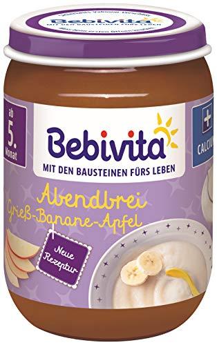 Bebivita Abendbrei Grieß-Banane-Apfel, 190 g