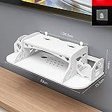 Huangwei Los estantes flotantes Creativo/de Pared Medios Caja/módem/Cable Set-Top Caja de la Consola/Consola/TV/Reproductor de DVD/Consola de Juegos/pequeños Productos electrónicos/Rack de al