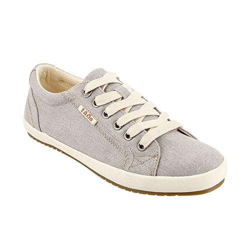 Star - Women's Wide Casual Shoes in Grey Size: 9