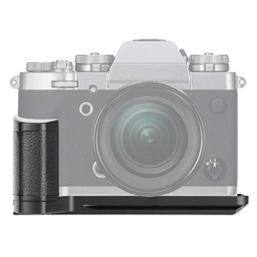 mcoplus Venidice VD-XT3 impugnatura- Staffa a L a sgancio rapido, Hand Grip per fotocamere Fujifilm Fuji X-T3 XT3, ricambio per MHG-XT3
