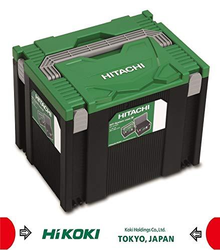 Hitachi 402541 Cassetta degli attrezzi Nero, Verde Cassetta degli attrezzi