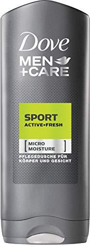 Dove Men+Care Sport Active + Fresh Lot de 12 flacons de douche avec microMoisture 12 x 250 ml