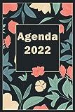 Agenda 2022: Grande Planificador anual 2022 12 meses . Día por página . Planificadora semanal diaria y mensual ...