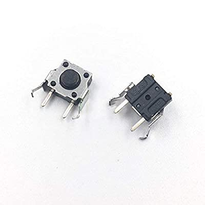 2 x L R Shoulder Trigger Buttons Switch 4Pin Left Right Button Part for GBA SP Gameboy Advance SP Replacement