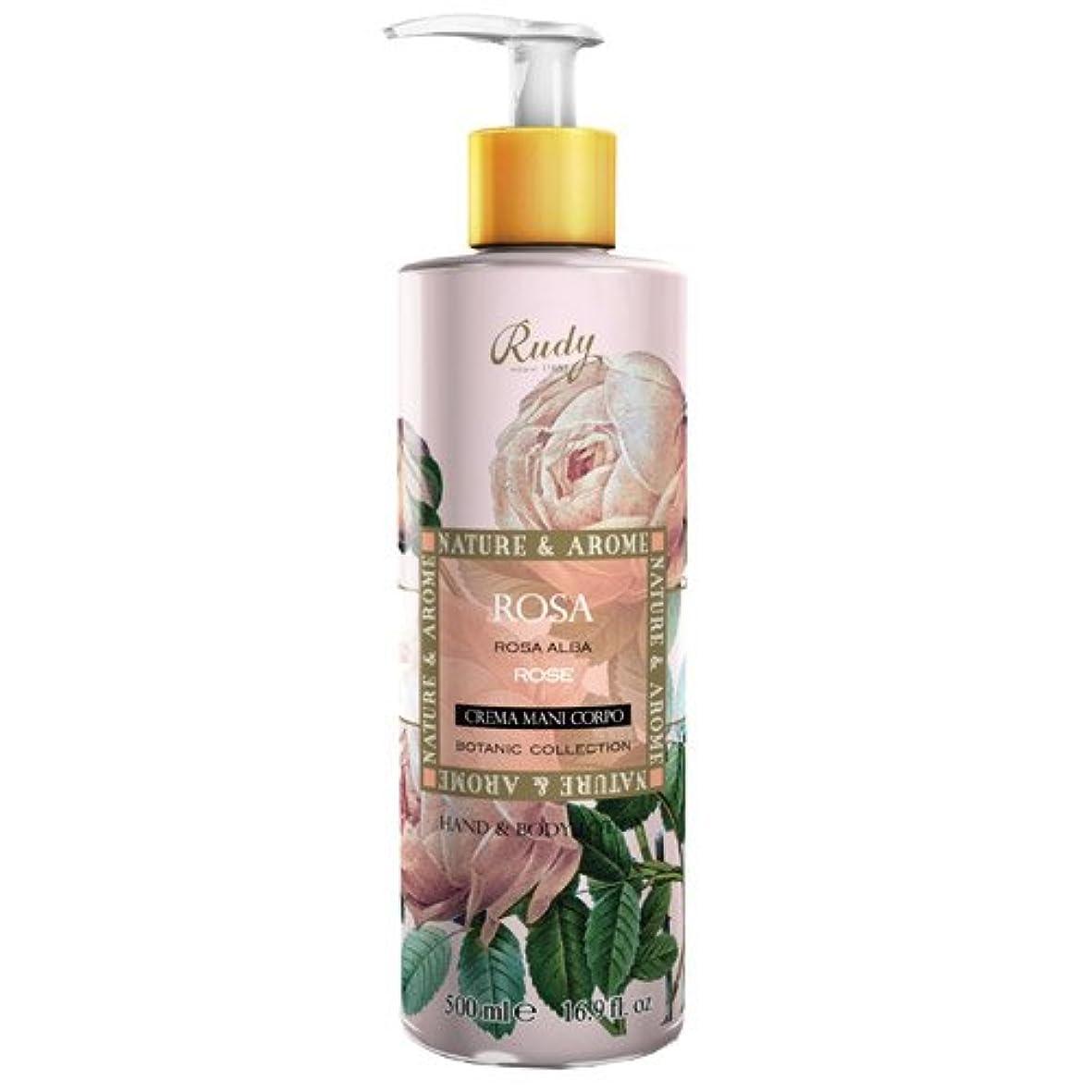 ブランド名任命する立証するRUDY Nature&Arome SERIES ルディ ナチュール&アロマ Hand&Body lotion ハンド&ボディローション ローズ