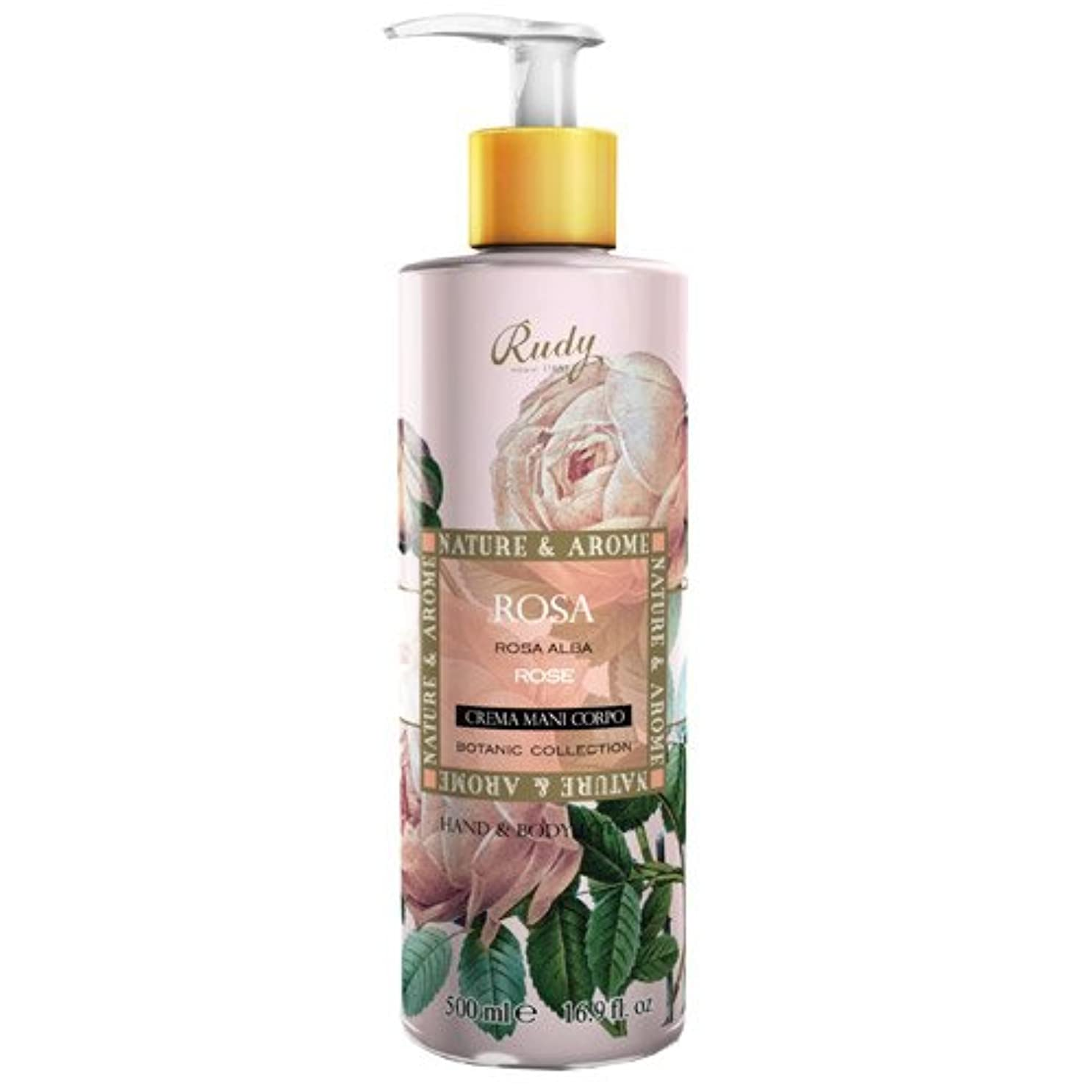 ポンペイ肉屋回転RUDY Nature&Arome SERIES ルディ ナチュール&アロマ Hand&Body lotion ハンド&ボディローション ローズ