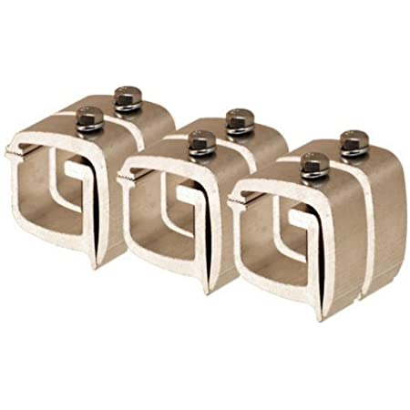 """Details about  /API Truck Cap Clamps AC105 Universal 1 Pair 1/"""" Angular Cam Lid Mounting Clamp"""