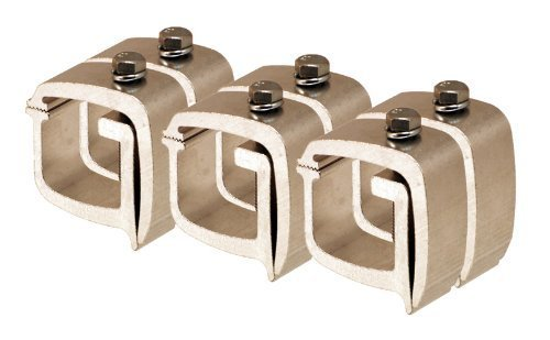 API KH1 Mounting Clamps for Truck Caps / Camper Shells (6 pack)