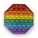 Droquimur   Pop It   Juguete Sensorial Antiestrés   Explotar Burbujas   Fidget Toy Relajante   Octog...