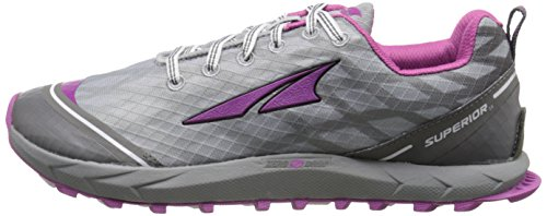 Altra Mujer Zapatillas Running Senderismo Superior 2.0 Gris / A2652-1, Gris, 6.5 B(M) US