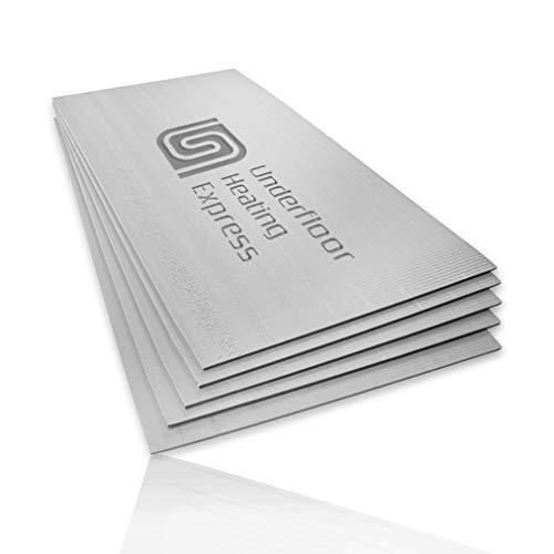 XPS Fußbodenheizung, 10 mm, 1200 mm x 600 mm, 10 Stück