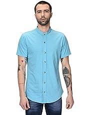 GRITSTONES Men's Regular Fit Casual Shirt