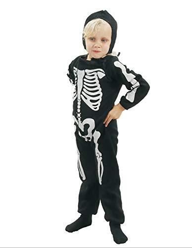 PARTY FIESTA Disfraz Esqueleto (3-4)