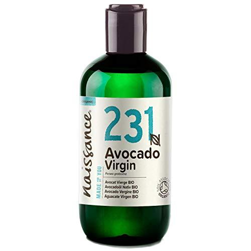Naissance Olio di Avocado Biologico 250ml - Puro,...