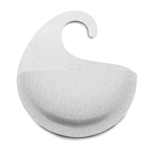 Koziol Utensilo Surf XL, Aufbewahrungskorb, Körbchen, Thermoplastischer Kunststoff, Organic Grey, 2846670