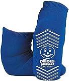 BARIATRIC SLIPPER SOCK NON SKID (3pk), 3X large, Blue, Blue, Size 3X large
