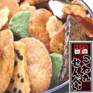 【訳あり】草加・おまかせ割れせんべい(煎餅) 2kg缶 ds-132727