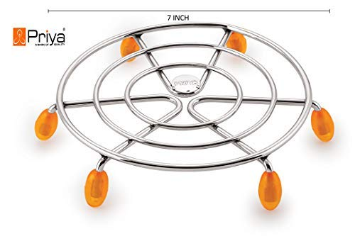 Hot Pot Stand //Casserole Stand //Hot /& Cold Cauldron stand //Stainless Steel-2 pcs