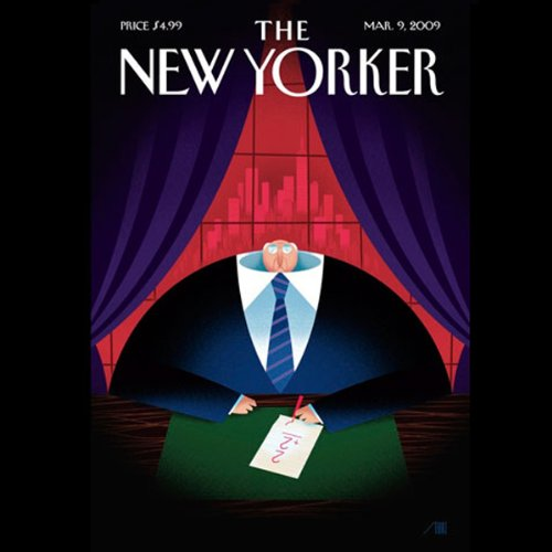 The New Yorker, March 9nd, 2009 (Alec Wilkinson, Sasha Frere-Jones, David Foster Wallace) audiobook cover art
