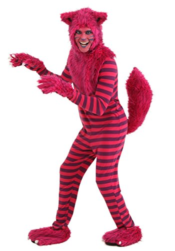 Adult Deluxe Cheshire Cat Costume Small Pink - http://coolthings.us