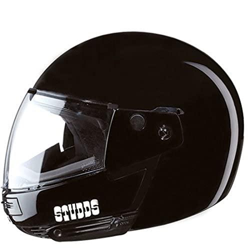 Studds Ninja Pastel Plain Full Face Helmet- Black (Xl)
