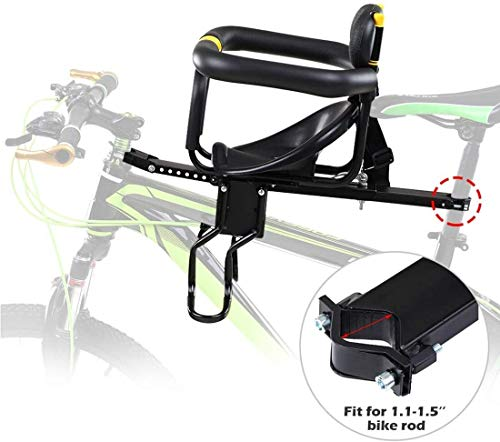 LYYJIAJU Fahrradsitz vorne montiert, universeller Kinderfahrradsitz für Kinder, Kindersitz, Sicherheitssitz für Fahrräder
