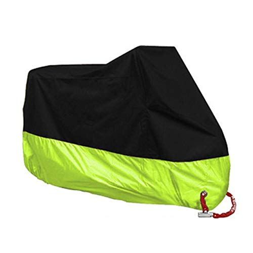 Motorcycle Cover Tarpaulin Cover Scooter Cover Protective Gear Waterproof Rainproof Dustproof Cover Bicycle Tent (Color : G, Size : XL for 2001 2100mm)