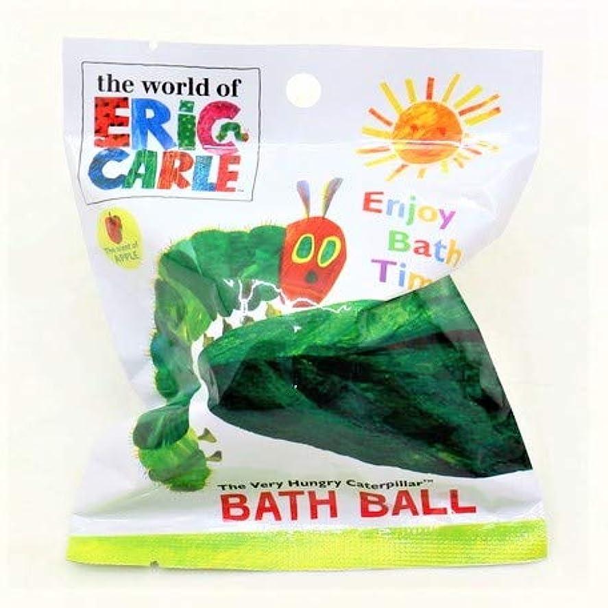 引き金海実験はらぺこあおむし バスボール 入浴剤 りんごの香り 6個入1セット