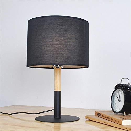 LTAYZ Lámpara Escritorio Lámpara Inicio Oficina Decoración Moderno Minimalista Mesa de Madera Sólida Lámpara de Mesa Personalidad Creativa Dormitorio Lámpara de Mesa Lámpara de Noche 25 * 40 cm