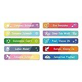 foliado® Namensaufkleber Kinder Etikett 45x7mm Sticker Namensetikett Schule Kita Kleidung