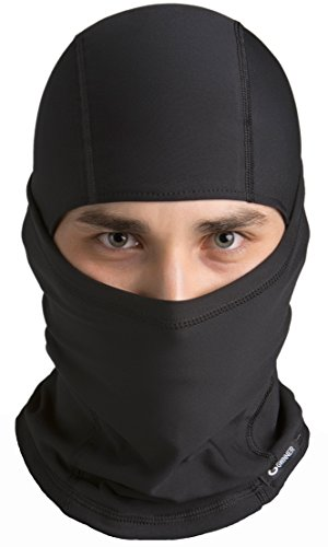 Gwinner Sturmhaube Skimaske Kopfhaube Gesichtsmaske Balaclava IV THERMOLINE, schwarz, S/M