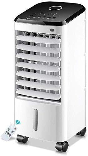 DFJU Umidificadores de resfriador de ar com Ventilador de ar condicionado Frio Simples, Controle Remoto, operação silenciosa em casa 65 W