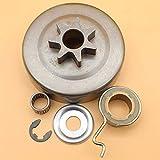 Kit de arandela de engranaje helicoidal de campana de tambor de embrague de .325'7T para STIHL MS250 MS230 MS210 MS 25023021025023021 Piezas de motosierra